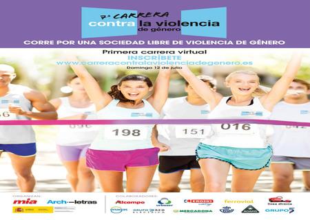El 12 de Julio llega la Carrera Virtual Contra la Violencia de Género