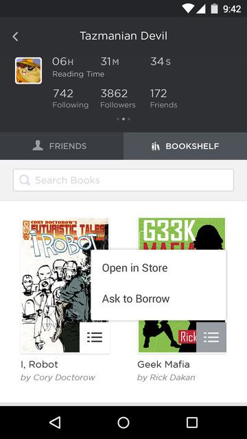 6 friend s bookshelf