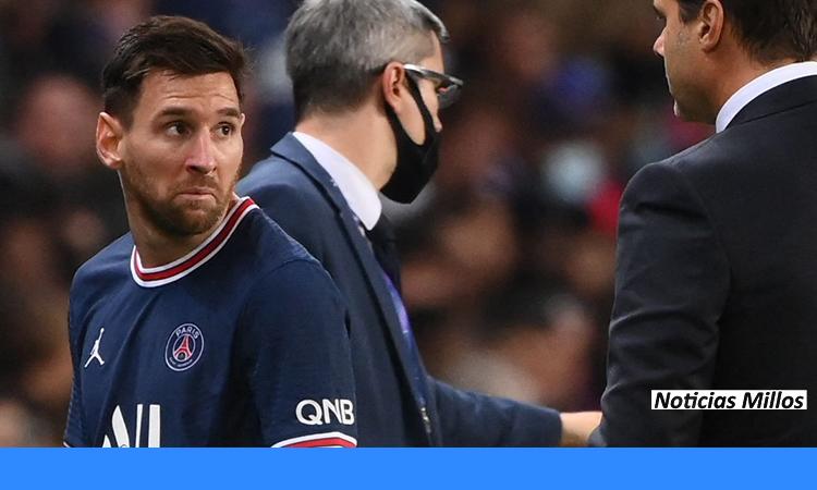 Lionel Messi sigue sin hacer nada en París Saint-Germain