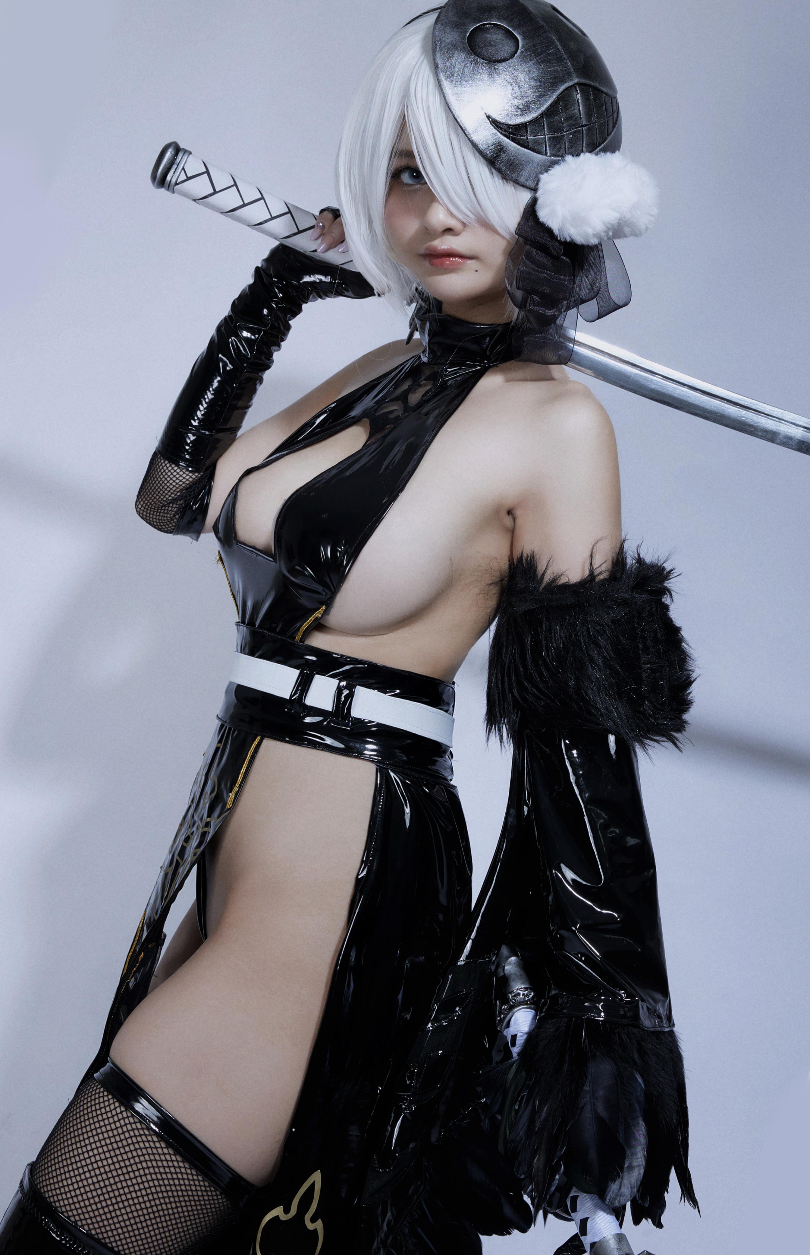 Azami - 2B Shinobi - Nier Automata Cosplay 04
