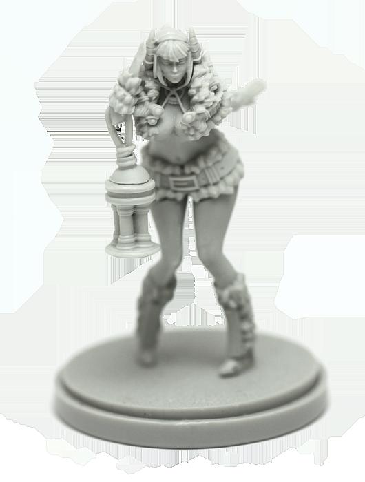Pinup Screaming God Armor Resin Figure Resin Figure Kingdom Death Tabletop Game