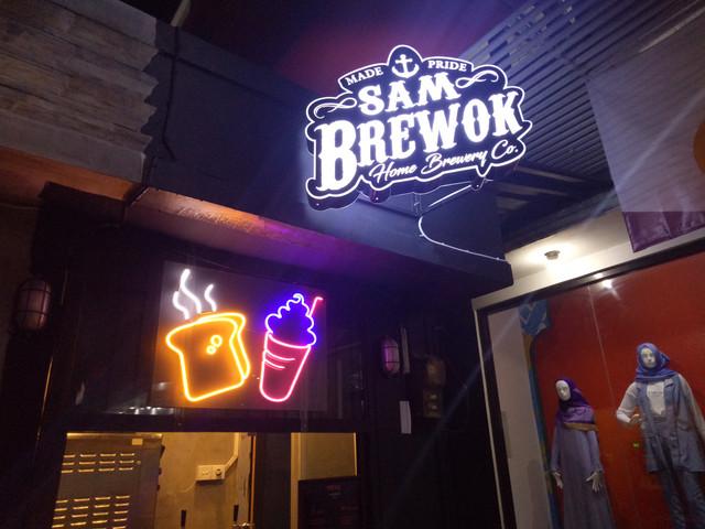 Sam Brewok Kedai Coffee Beer Malang