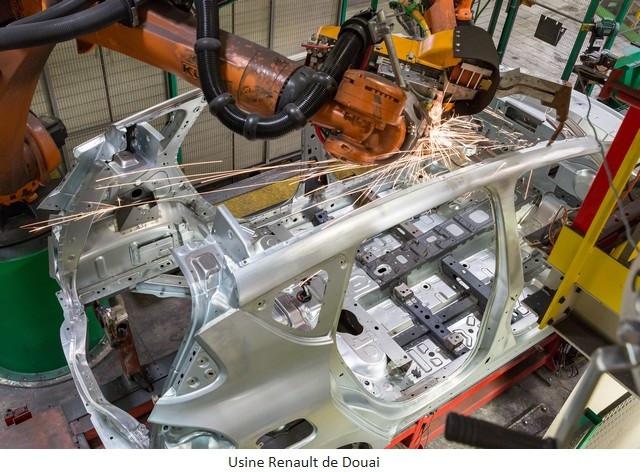 Renault Group signe un accord social et crée Renault ElectriCity: le pôle industriel électrique du nord de la France Usine-Renault-de-Douai