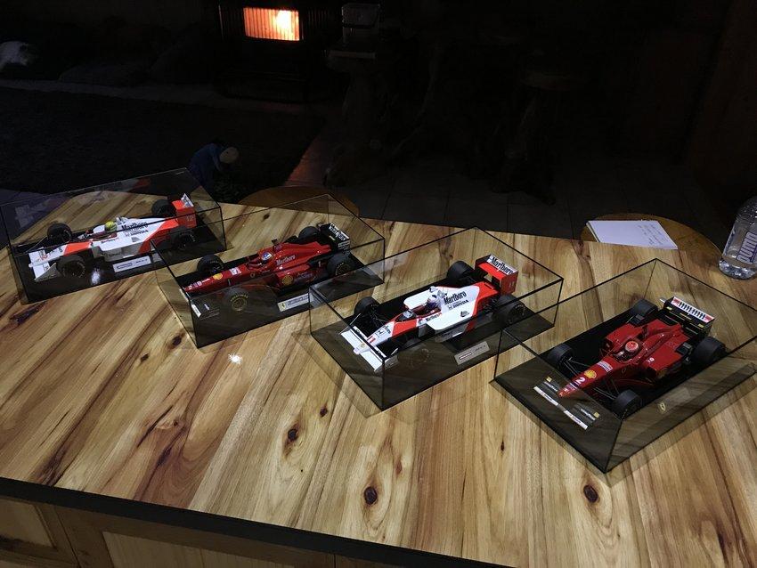 MINICHAMPS F1 FERRARI MODEL FORMULA 1 CAR