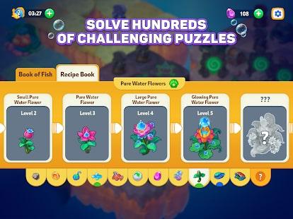 Sea Merge Fish Games in Aquarium & Ocean Puzzle 10
