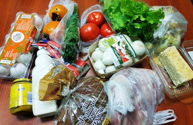 Онлайн доставка еды из магазинов на дом в Санкт-Петербурге