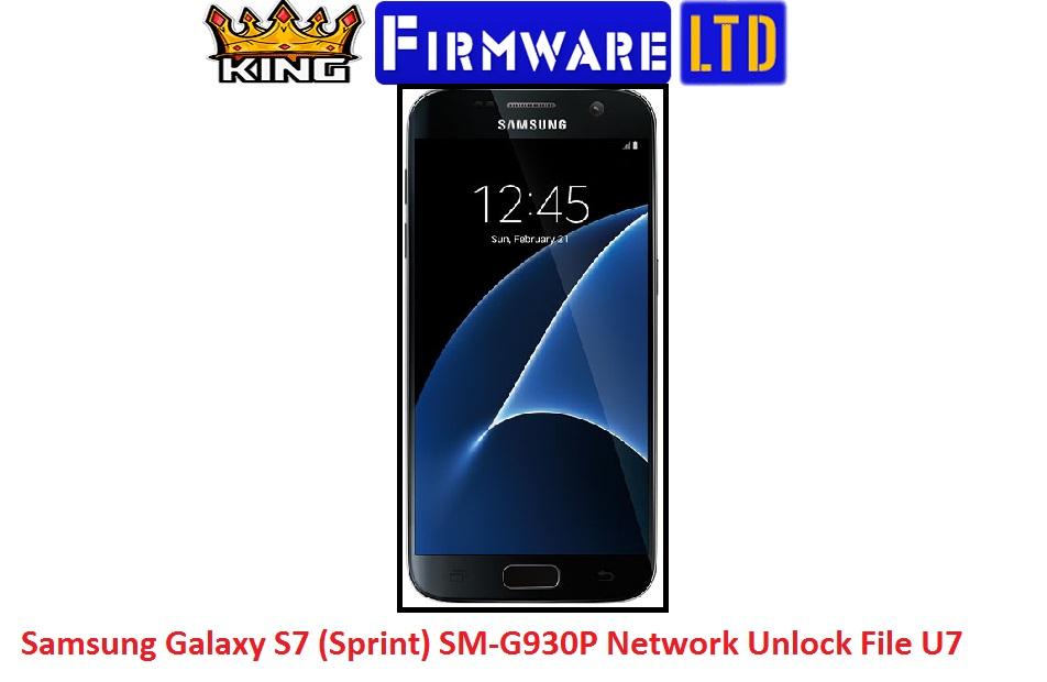 Samsung SM-G930P U6 U7 Network Unlock 8 0 And 7 0 Without Credit