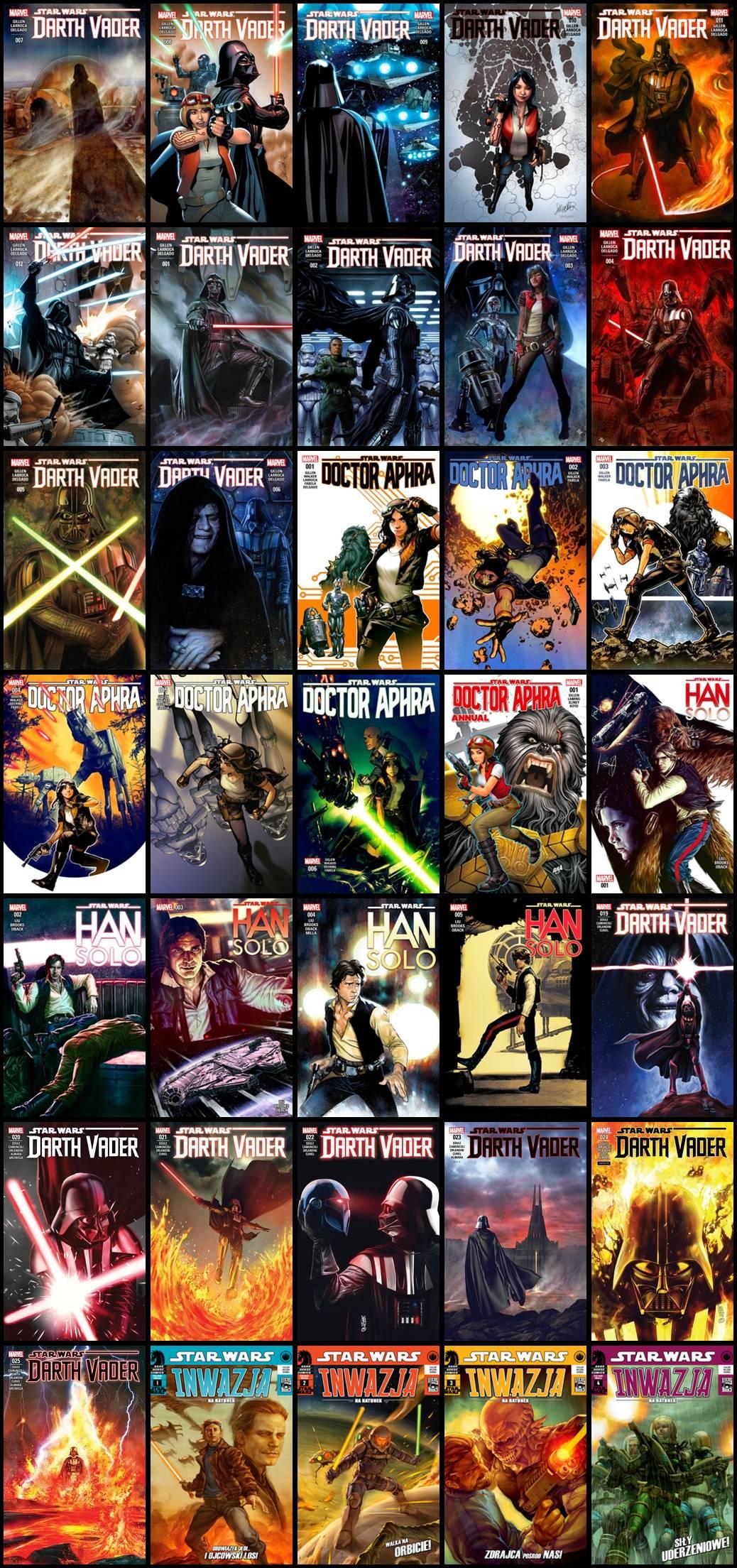 Star Wars - Różne Komiksy