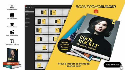 Book Promo Builder 25234937 - After Effects Script & Project (Videohive)