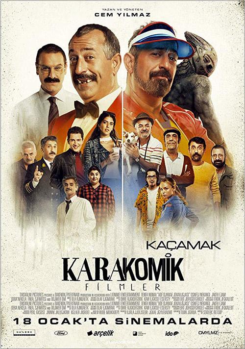 Karakomik Filmler: Kaçamak | 2019 | Yerli Film | NF | WEB-DL | XviD | Sansürsüz | 720p - 1080p - m720p - m1080p | WEB-DL | Tek Link