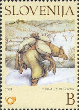 Slovenia stamps CHILDERN-BOOK-ILUSTRATION-3