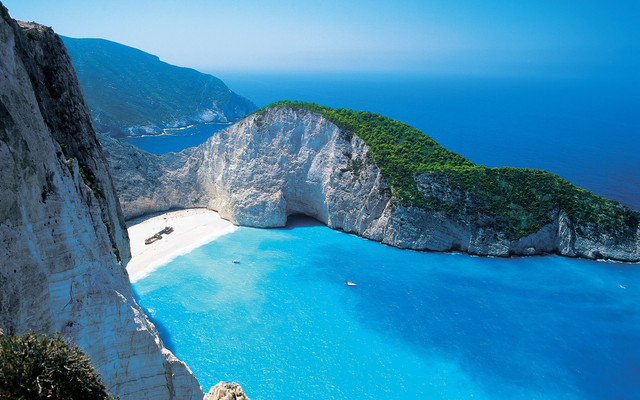 Greece zakyntos island navagio beach 1