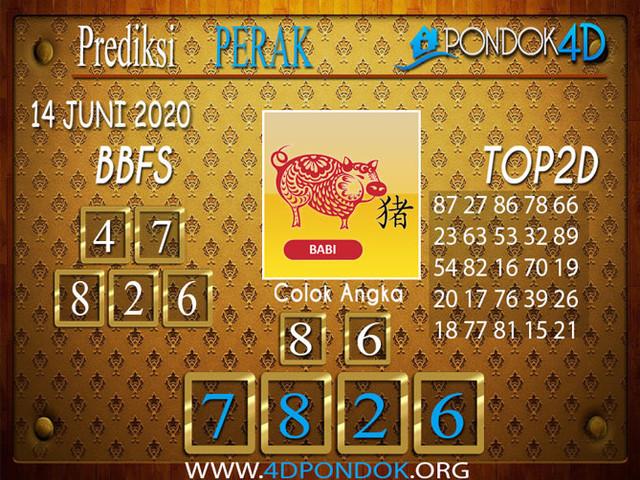 Prediksi Togel PERAK PONDOK4D 14 JUNI 2020