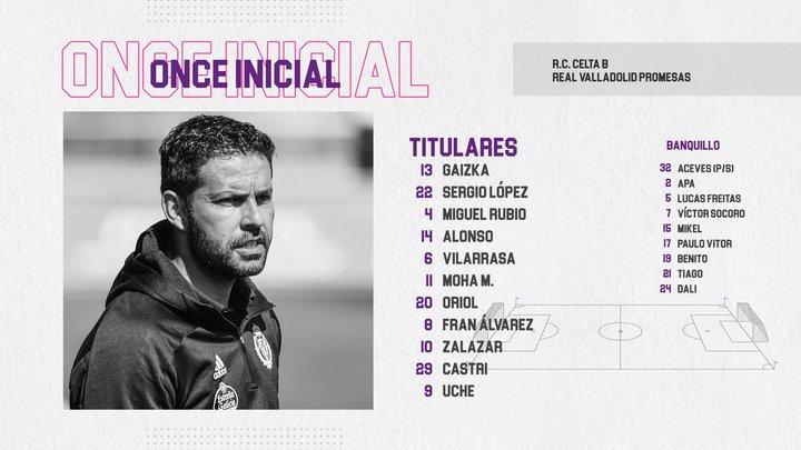 """Jornada 1 (FA): REAL CLUB CELTA DE VIGO """"B"""" 1-3 REAL VALLADOLID PROMESAS. 20210403-153241"""