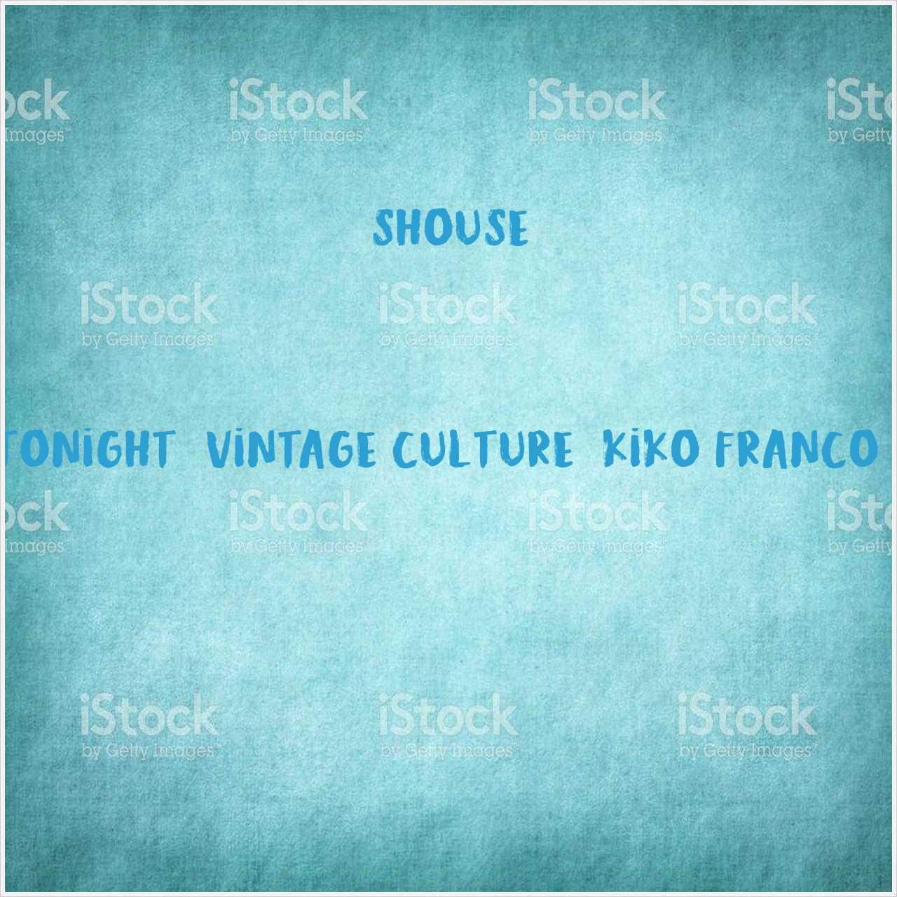دانلود آهنگ جدید Shouse به نام Love Tonight (Vintage Culture, Kiko Franco Remix)