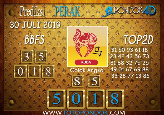 Prediksi Togel PERAK POOLS PONDOK4D 30 JULI 2019
