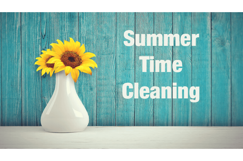 Summer Cleaning