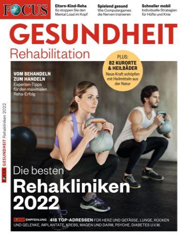 Cover: Focus Gesundheit Magazin (Rehabilitation) No 80 2021