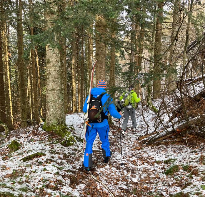Trek-to-the-snow