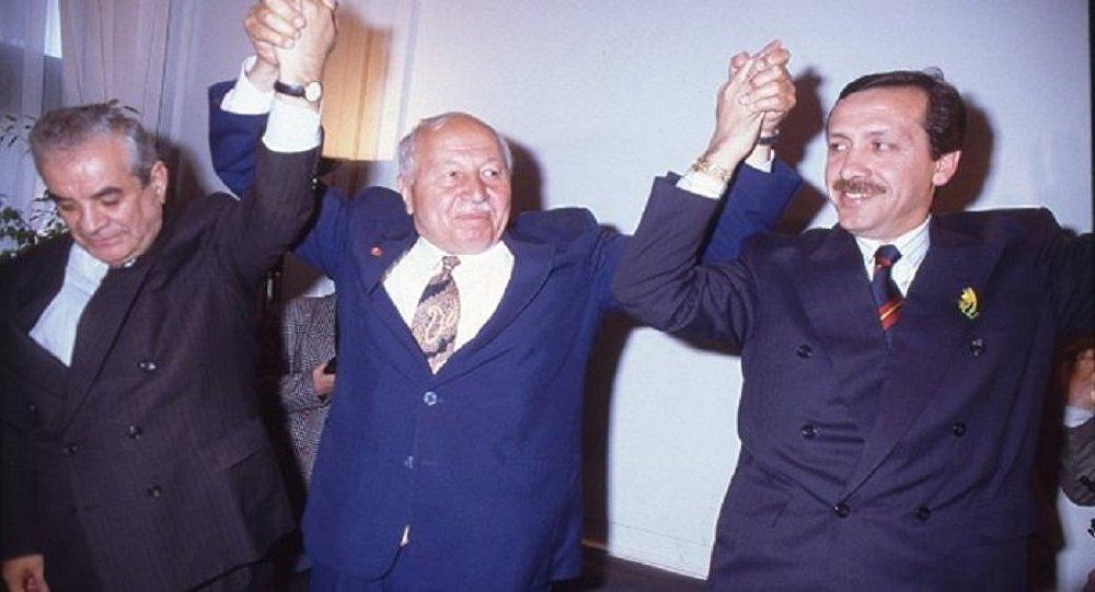 Necmettin Erbakan Recep Tayyip Erdoğan