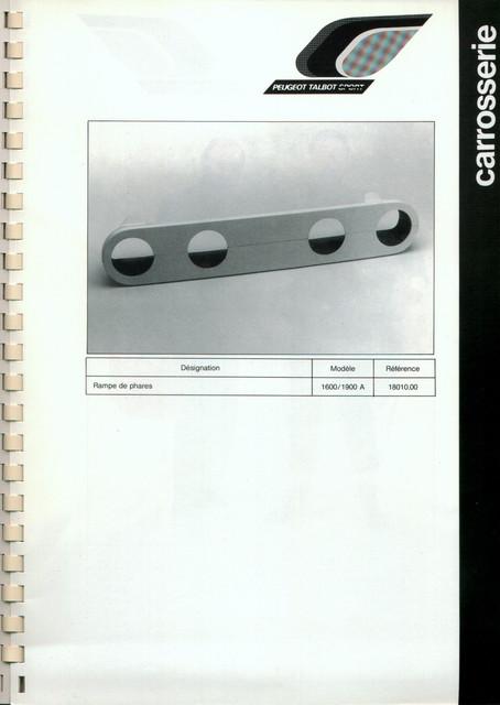 Catalogue PTS pièces compétition - 205 GTI 1600-1900 gr. N/A PTS-Carrosserie-7