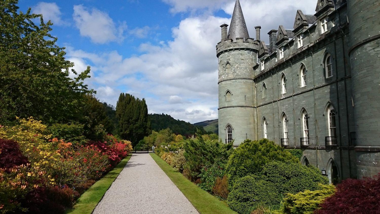 Inverary Castle, Vacation in Scotland