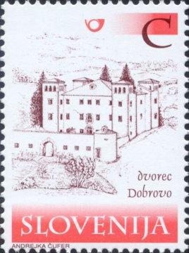 Slovenia stamps CASTLES-DVOREC-DOBROVO