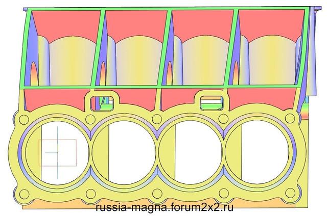 ВАЗ-V8. Восьмицилиндровый из двух вазовских. VAZ-V8-323