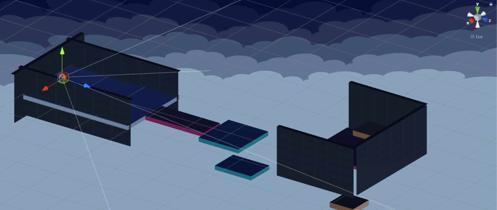 Level 1: Isometric Viewport Perspective