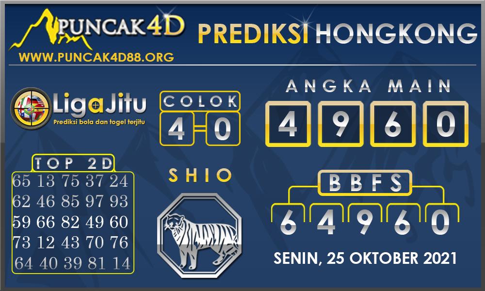 PREDIKSI TOGEL HONGKONG PUNCAK4D 25 OKTOBER 2021