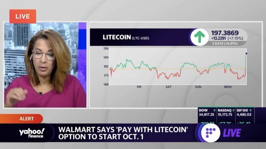 Черные стрелки валютного круга сыграли злую шутку со всеми! Поддельные новости вызвали ликвидацию 200 миллионов долларов США, был нанят Bloomberg, валютный круг, Litecoin Foundation, Walmart, Twitter, Bitcoin, Litecoin 876x490