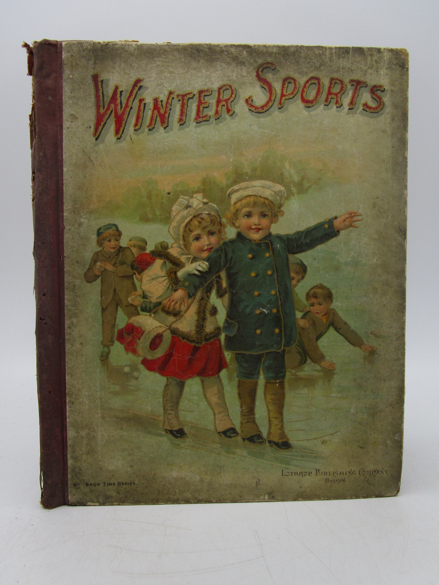 Image for Winter Sports and Winter Stories For Boys and Girls: Snowtime Series