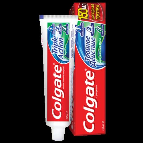ქოლგეითი კბილის პასტა 150 მლ სამაგი მოქმედება