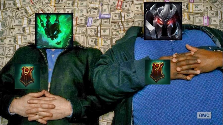 Meme de Mordekaiser como APC | Vía reddit