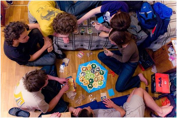 Настольные игры по разным поводам