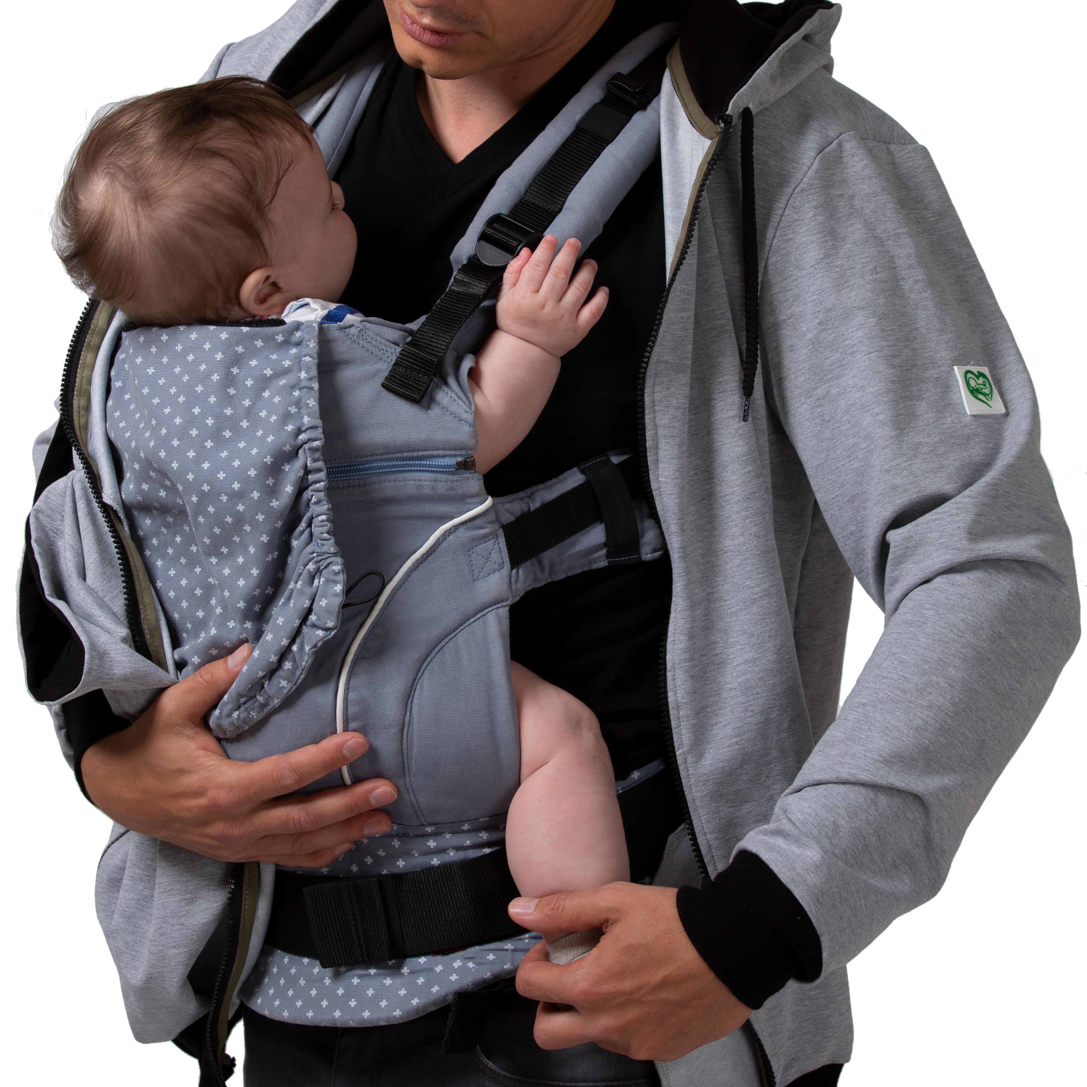 Kleidung & Accessoires Stillmode 100% QualitäT 3in1-jacke/pulli+umstandsshirt+tragejacke*tragepulli Für Tragetuch Loo Be Mama Produkte Werden Ohne EinschräNkungen Verkauft