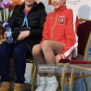 Алёна Канышева и тренер
