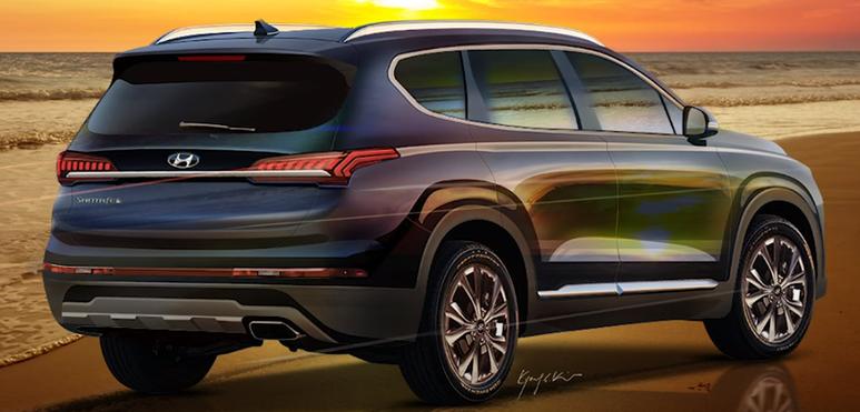 Hyundai Santa Fe Restyling (2020) 6