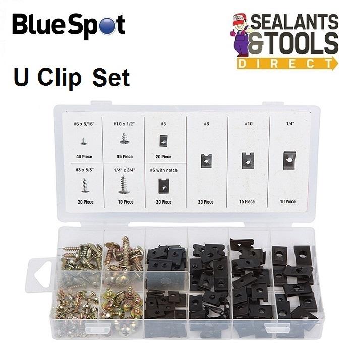 Blue-Spot-Tools-170-Piece-U-Clip-and-Screw-Assortment-40532