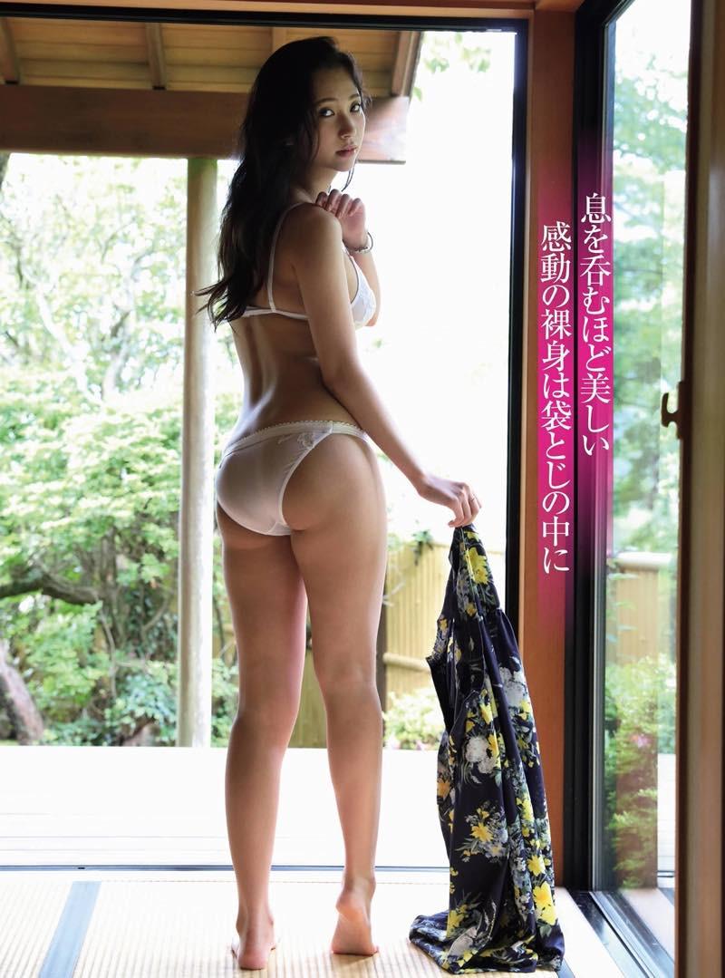街山みほ 現役慶応大学生美女 衝撃のフルヌード-003