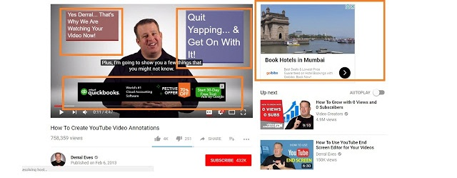 YouTube Paid Ads Promotions