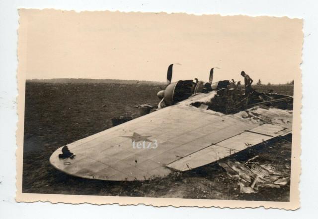 1941-Abschu-Beute-Flugzeug-Plane