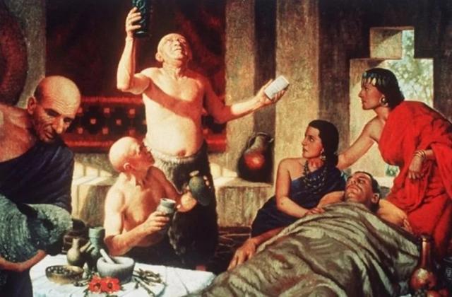 как лечили больных в древности