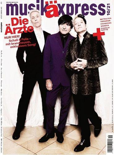 Cover: Musikexpress Magazin No 10 Oktober 2021