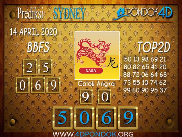 Prediksi Togel SYDNEY PONDOK4D 14 APRIL 2020