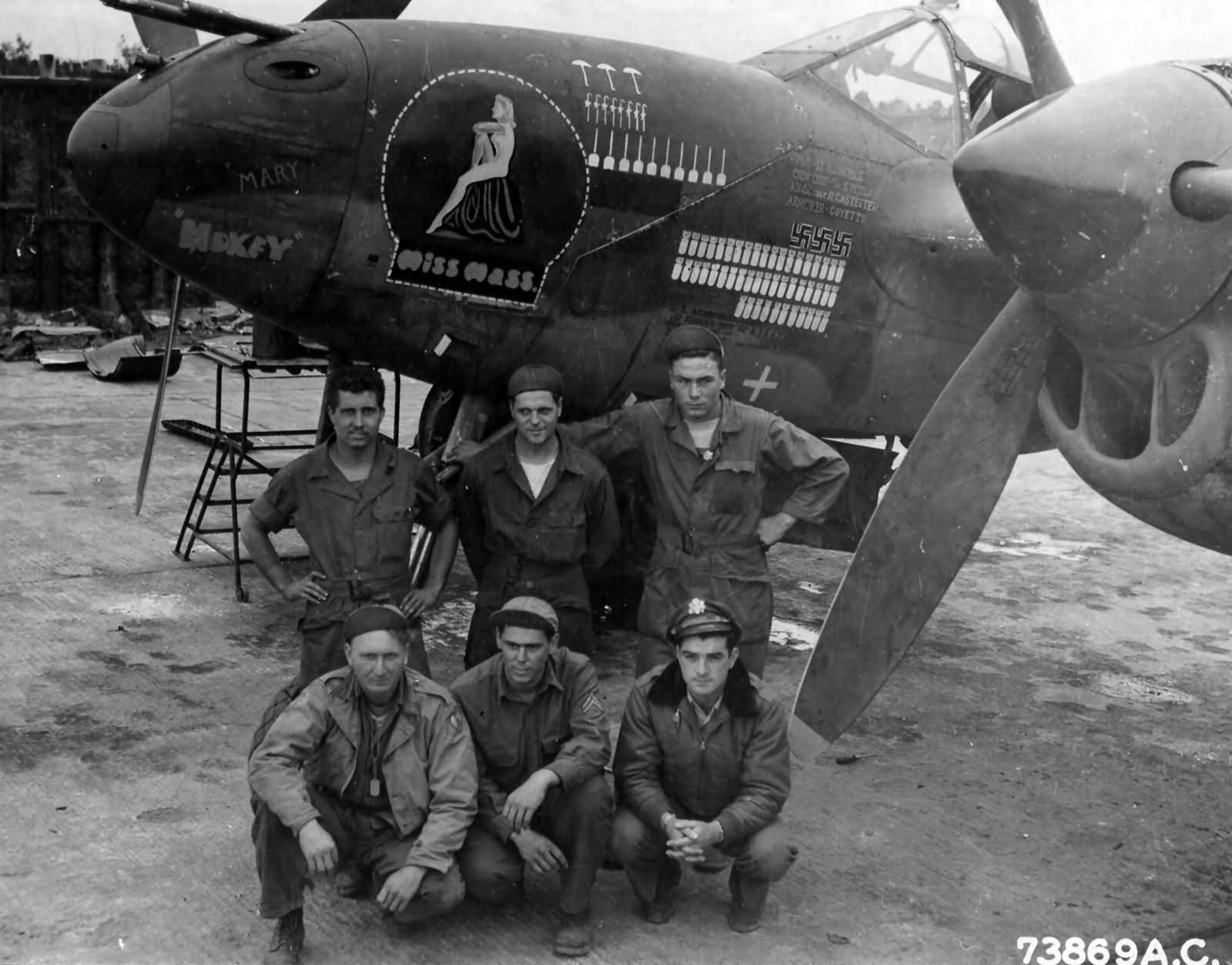 P-38-J-Lightning-serial-42-67449-Miss-Ma