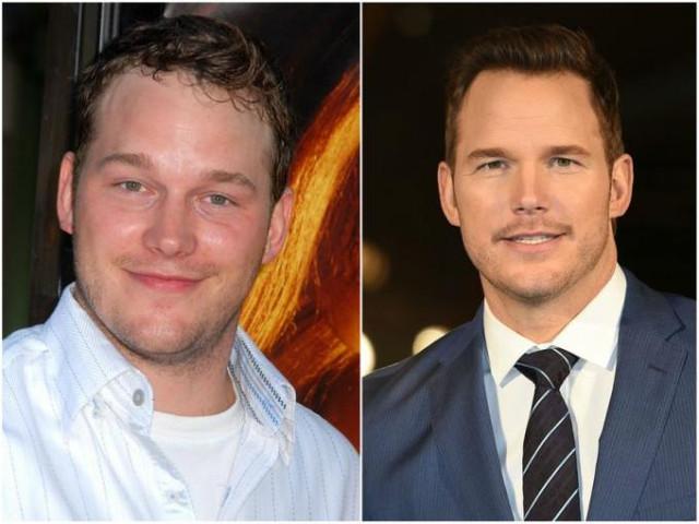 Chris Pratt antes y ahora