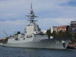 HMAS-HOBBART-AUSTRALIA