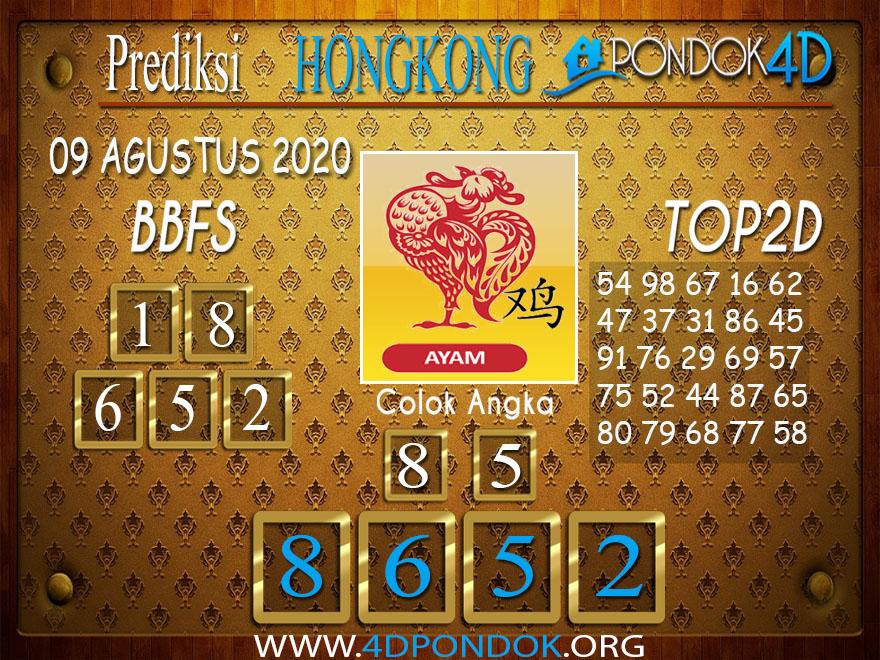 Prediksi Togel HONGKONG PONDOK4D 09 AGUSTUS 2020