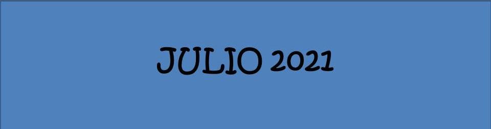 JULIO 2021 EDICIÓN SIETE